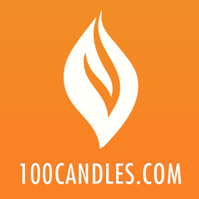 100 Candles - Tall Frosted Glass Cylinder Votive Cup - Votive ...