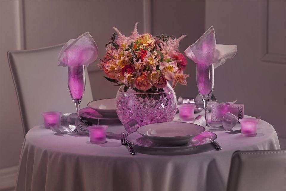 Gallery diy purple wedding centerpieces