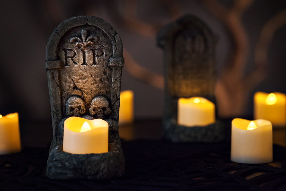 Halloween Battery Operated Led Votive Candles