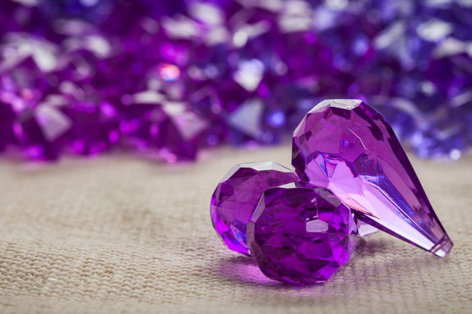 Purple Gems Decor Collection