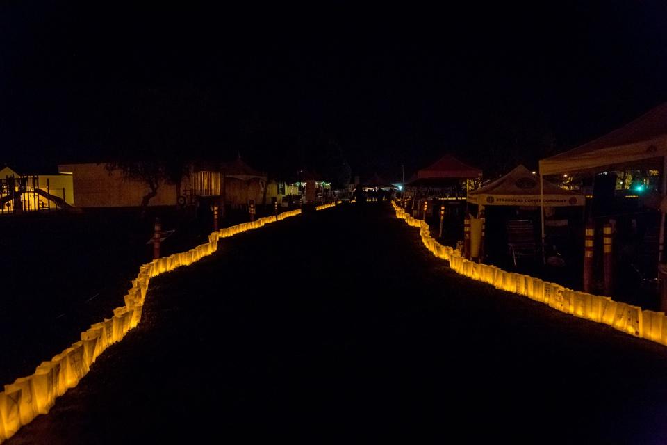 Relay For Life Luminaria Event