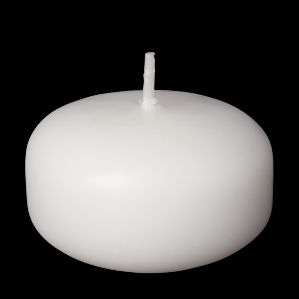 2 Inch White Floating Candles