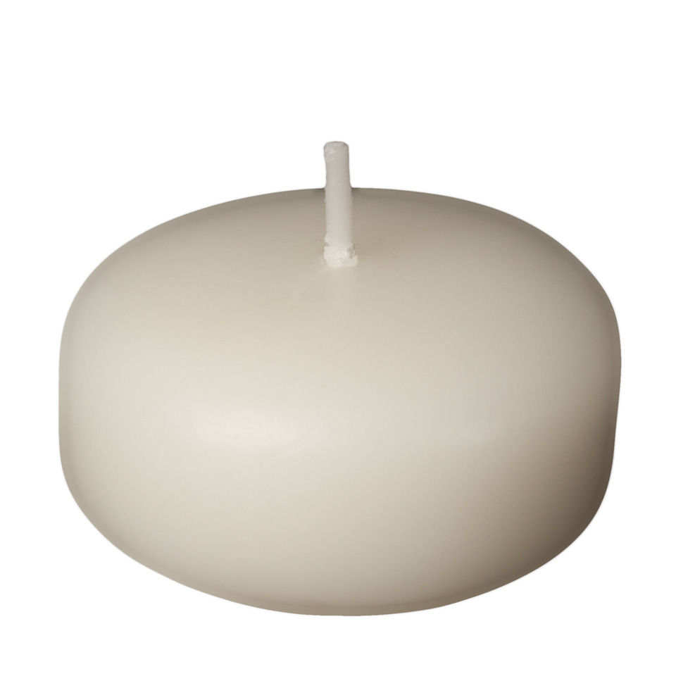2 inch ivory floating candles