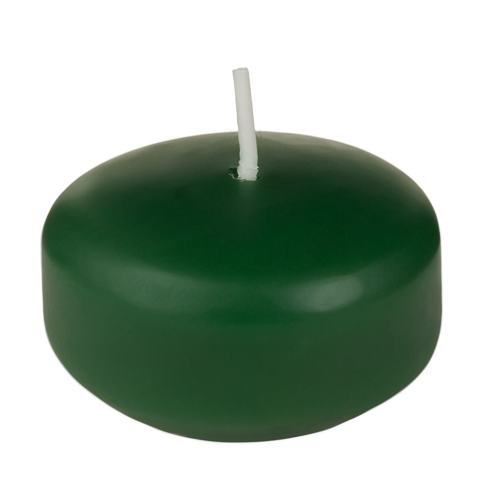 2 Inch Green Floating Candles