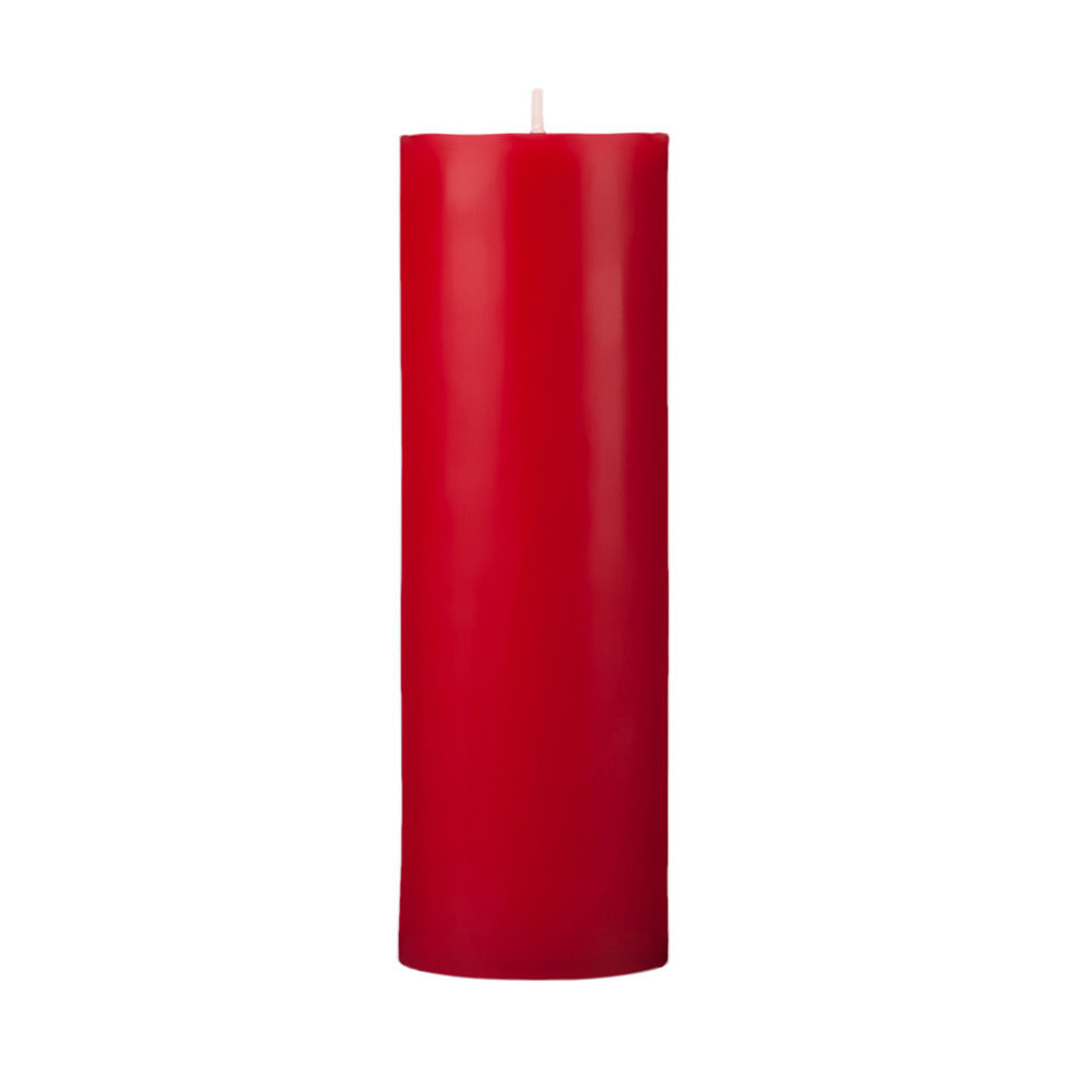 2x6 Red Pillar Candle