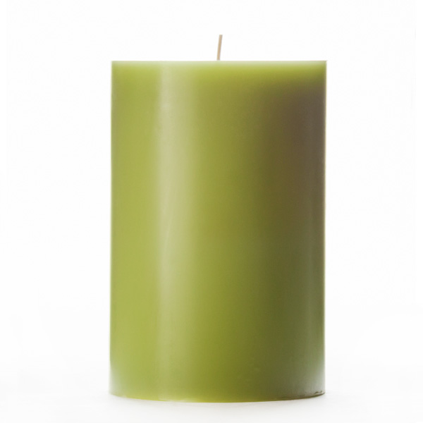 4x6 Green Pillar Candle : lgitem20382 from www.100candles.com size 600 x 600 jpeg 55kB