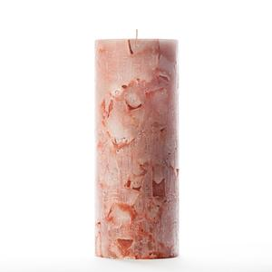 4x10 Orange Chunky Pillar Candle