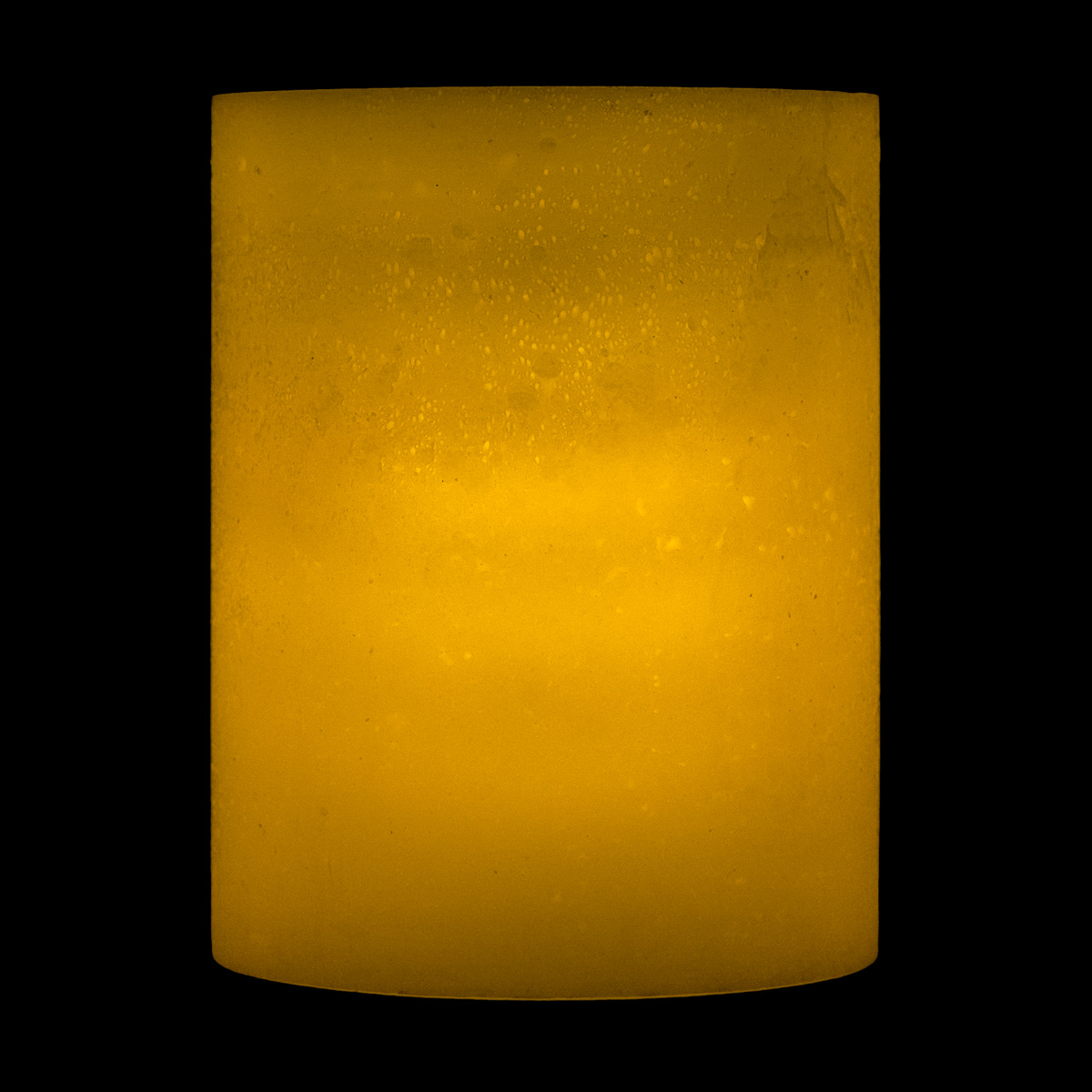 8x14 Ivory Round Led Extra Large Flameless Pillar Candles