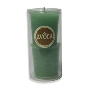 Avora Votive Refill Twin Pack - Aloe Spa