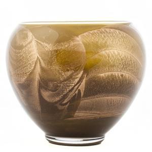 Vase 4 x 4 x 6 1/4 inch, square Rosenthal studio-line Block Glas
