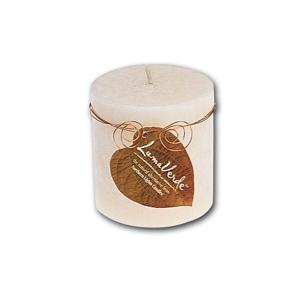 3X3 LumaVerde Pillar Candle - Toasted Vanilla