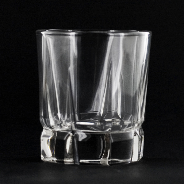 Libbey Squire Rock 12 Oz Glass Heavy Weight Cut Tumbler