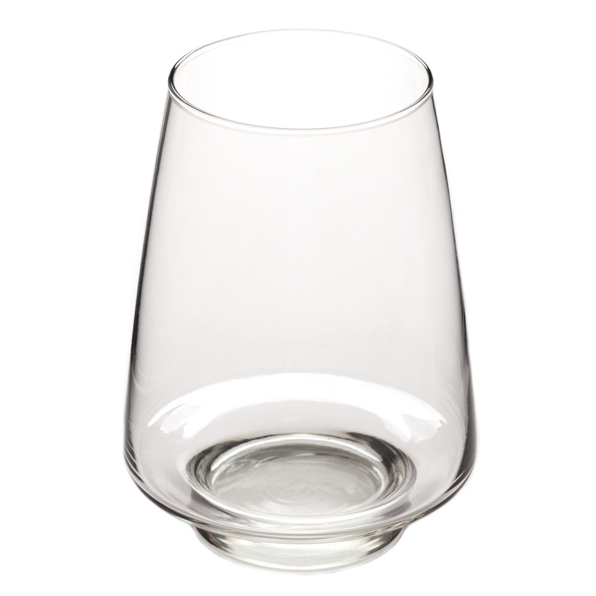 Libbey glass pyramid vase