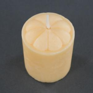 Four Piece Peach Scented Votive Candles Set - Fresh Peach
