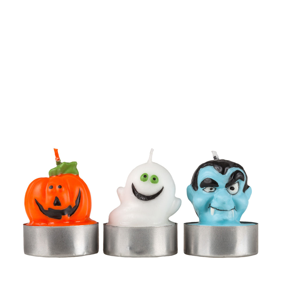 Halloween Figurine Candles - Ghost Pumpkin Dracula Candles