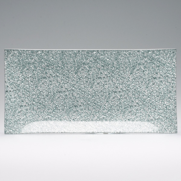 6x13 silver rectangle glass tray for Long rectangular candle tray
