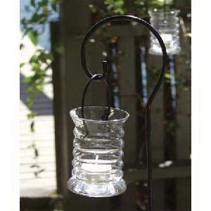 Capri Hanging Lanterns - Clear Glass - Candle In The Wind