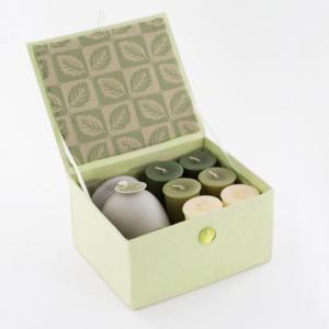 AromaZone Heather Medium Gift Box Set- Aromatherapy Candles Giftset