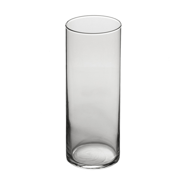 libbey 9 inch high large glass cylinder vase. Black Bedroom Furniture Sets. Home Design Ideas