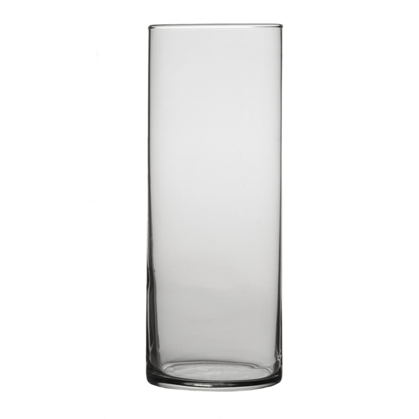 Libbey 9 Inch High Large Glass Cylinder Vase