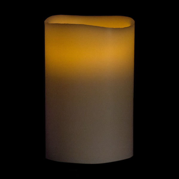 Pillar Battery Candle with Timer and Remote Control