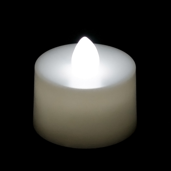 battery operated tea light candle white. Black Bedroom Furniture Sets. Home Design Ideas