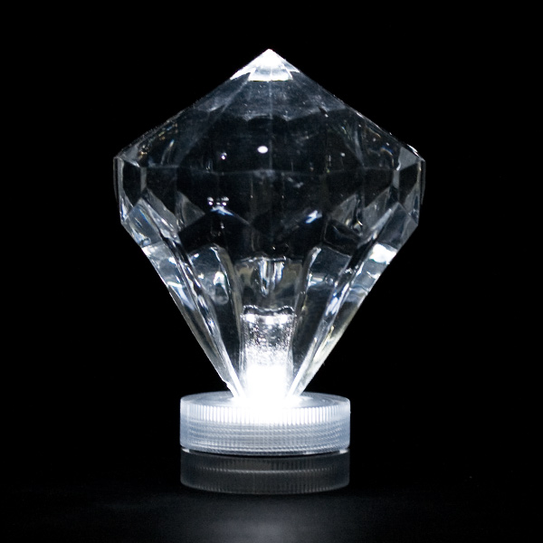White Submersible Diamond Led Light