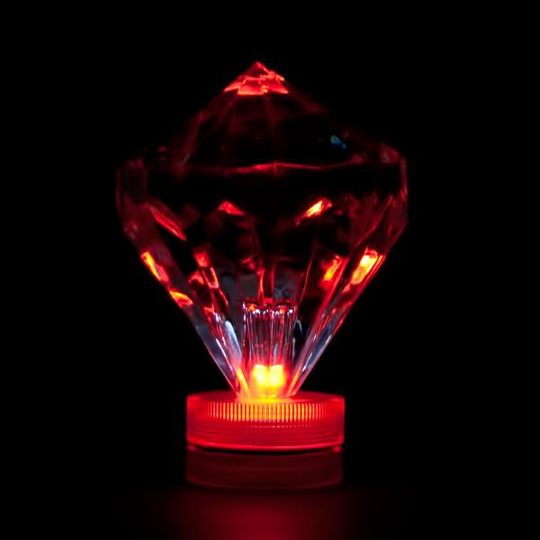 Red Submersible Diamond Led Light