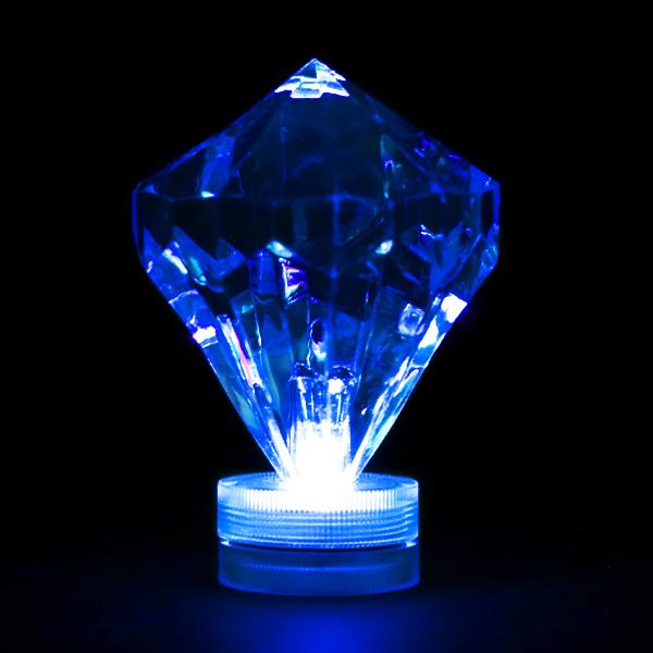 Blue Submersible Diamond Led Light