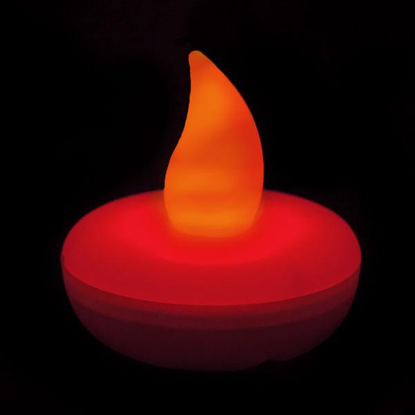 Flickering Red Floating Led Light