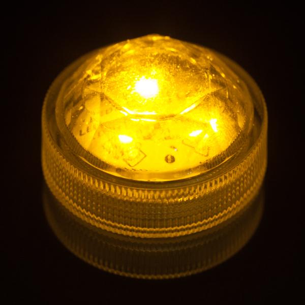 Amber Submersible Triple Led Light