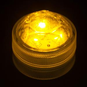 Amber Submersible Triple LED Light