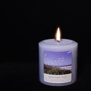 3x3 Northern Lights Pillar - Wind & Sea