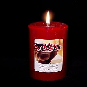 3x4 Northern Lights Pillar - Black Cherry- Elegance Collection