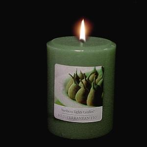 3x4 Northern Lights Pillar - Mediterranean Fig- Elegance Collection