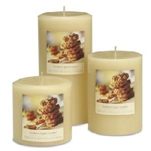 3x6 Pillar - Freshly Baked Cookies- Elegance Collection