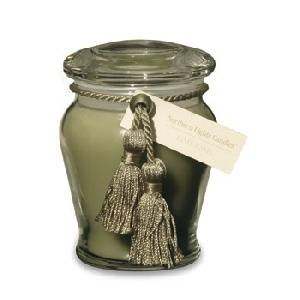 10 Oz Everyday Elegance Jar - Lime Basil - Elegance Collection