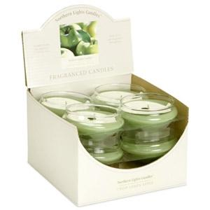 Floating Candles - Crisp Green Apple - Elegance Collection