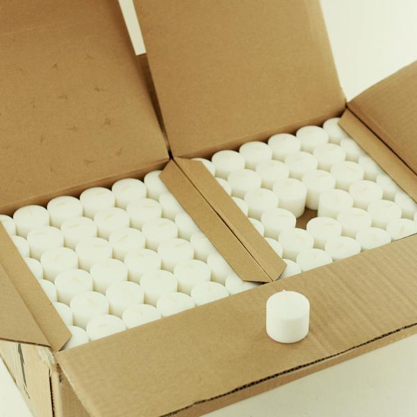 10 hour white votive candle in bulk restaurant hotel candles. Black Bedroom Furniture Sets. Home Design Ideas