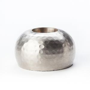 Hammered Taper Holder - Flattened Golf Ball