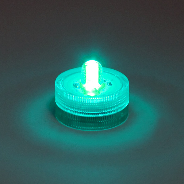 submersible led light - teal floralyte, Reel Combo