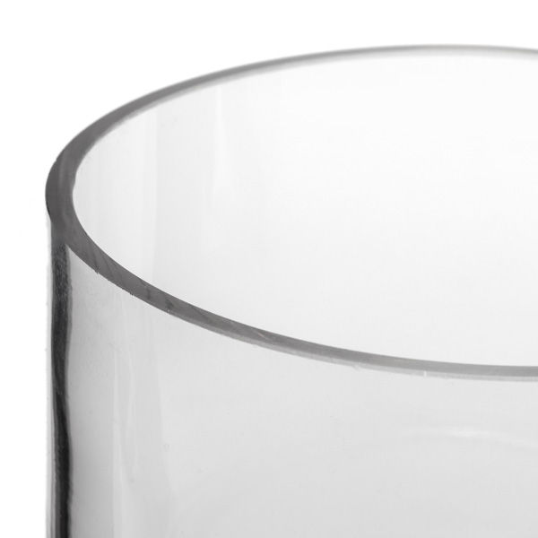 4x4 Cylinder Glass Vase Glass Container