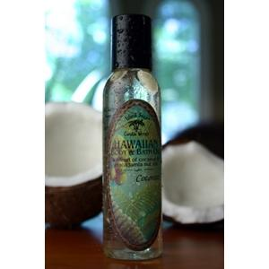Island Soap Hawaiian Botanicals Coconut Body&Bath 4.5Oz Aromatic Oil