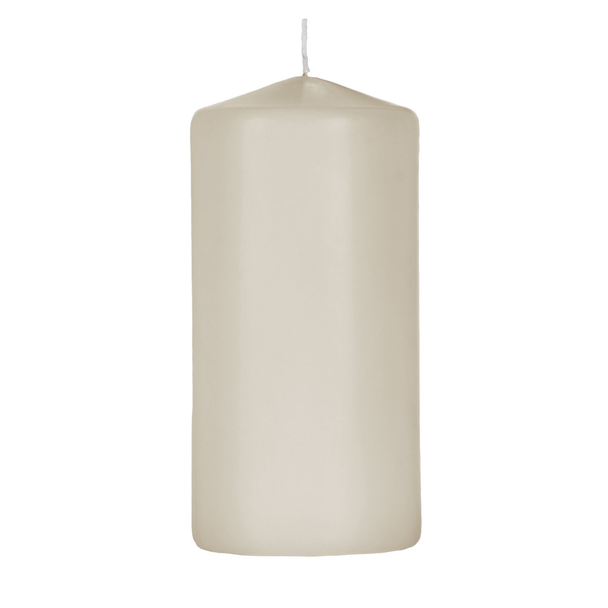 3x6 Ivory Pillar Candle - Unscented