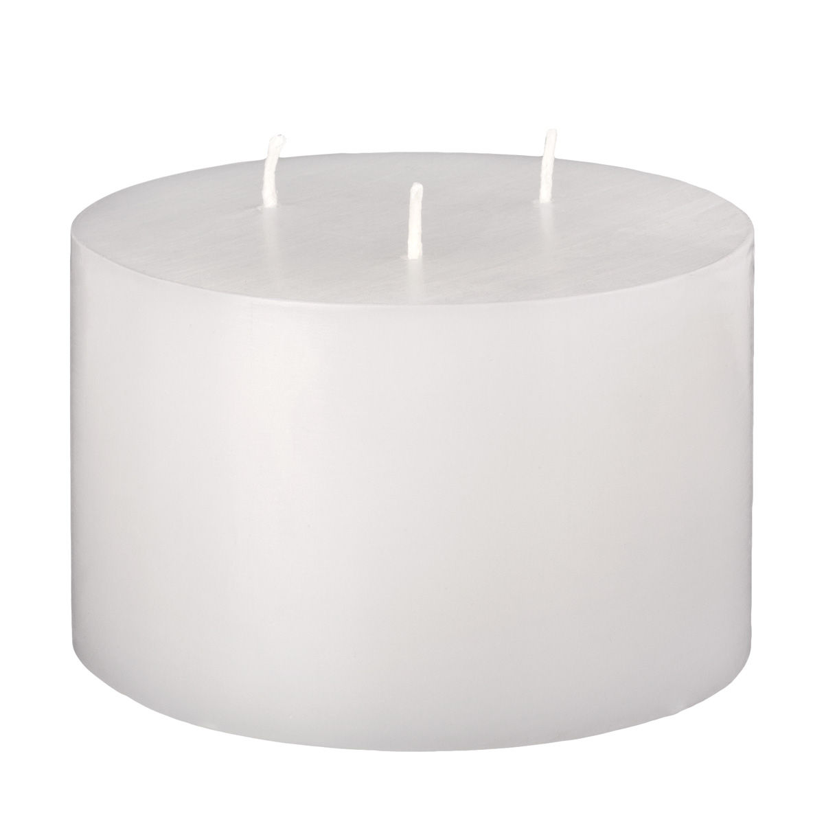 5x3 White 3 Wick Pillar Candle  sc 1 st  100 Candles & White 3 Wick Pillar Candle azcodes.com