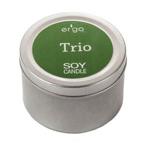 Ergo Soy Candle 2Oz Travel Tins To Go- Trio