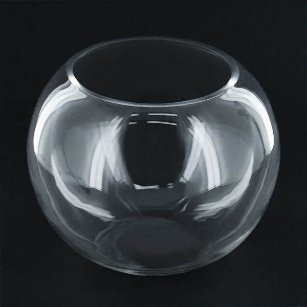5x5 inch fish bowl bubble bowl for Bubbles in fish bowl