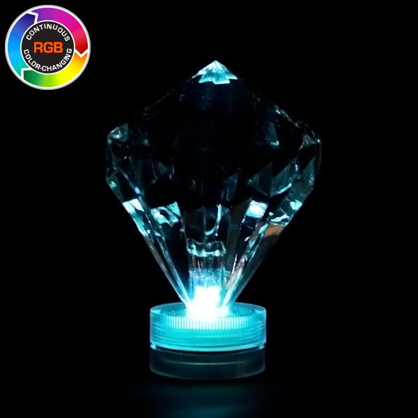 Color Changing Rgb Submersible Diamond Led Light