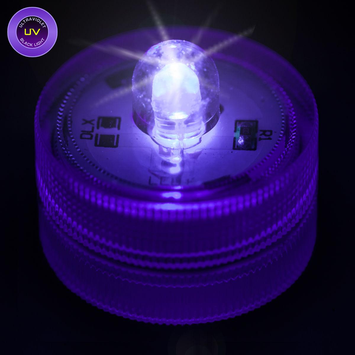 Led Shop Lights >> Ultra Violet Submersible LED Light - UV Black Light