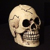 4.5 Inch Scary Bleeding Skull - Halloween Candle